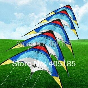 Livraison gratuite Sports d'amusement en plein air vente chaude australie 5 pile double ligne puissance cascadeur cerf-volant sortie d'usine