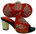 Shoes And Bag To Match Italian African Shoes And Matching Bag Set For Party In Women Italian Matching Shoe And Bag Set BCH-10