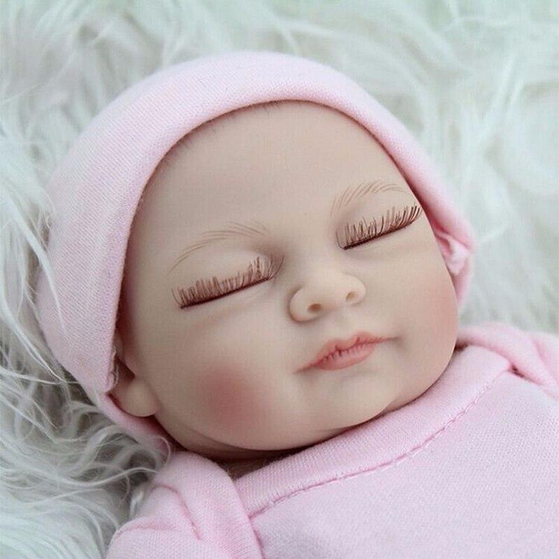 "11/"" Handmade Real Looking Newborn Baby Vinyl Silicone Realistic Reborn Doll Boy"