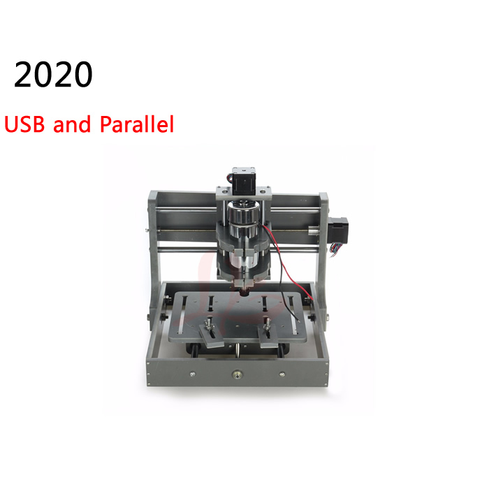 Mini cnc milling machine 2020 engraver wood carving lathe with USB and Parallel port 300w spindle cnc engraving machine 2030 parallel port 4axis wood mini lathe for universal work