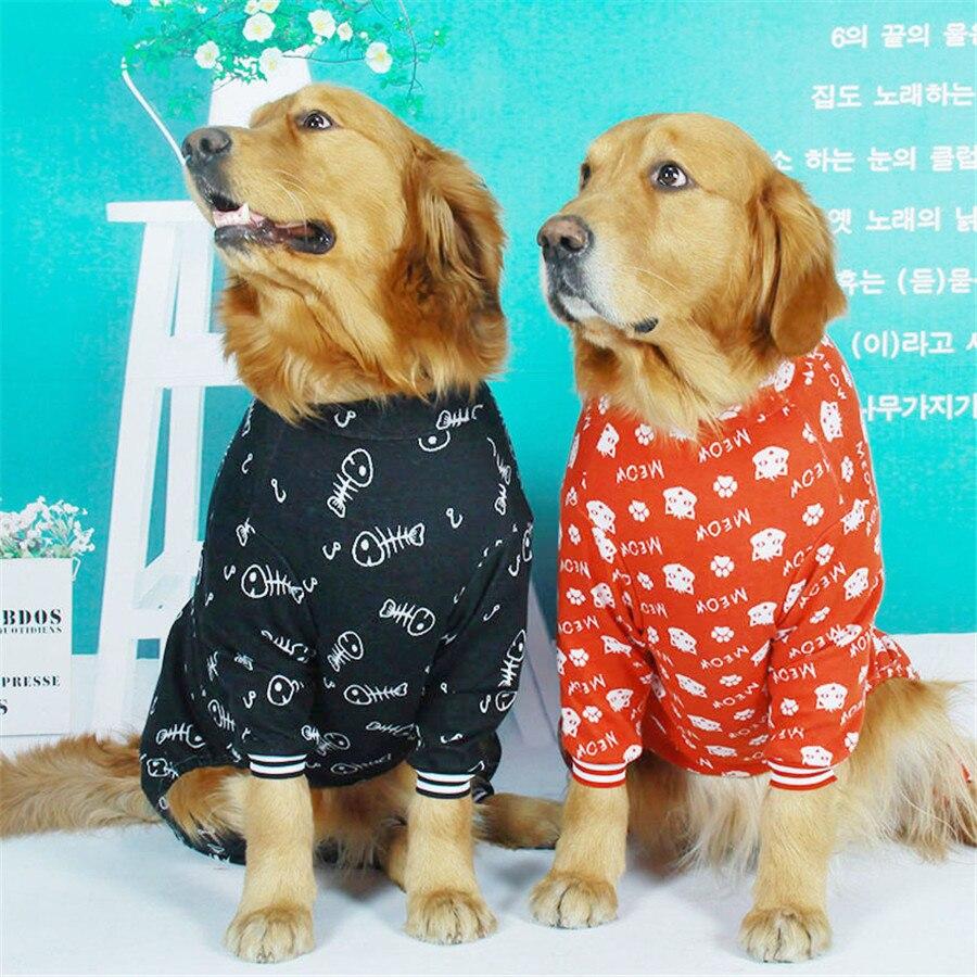 Cotton large dog clothes 2019 (9)