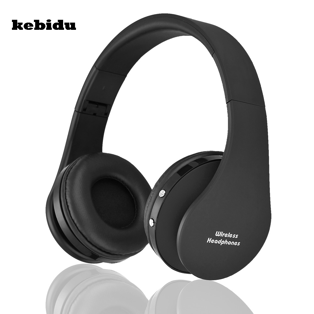 Kebidu New Handsfree Stereo Wireless Headphones Casque Audio Bluetooth Headset Cordless Earphone