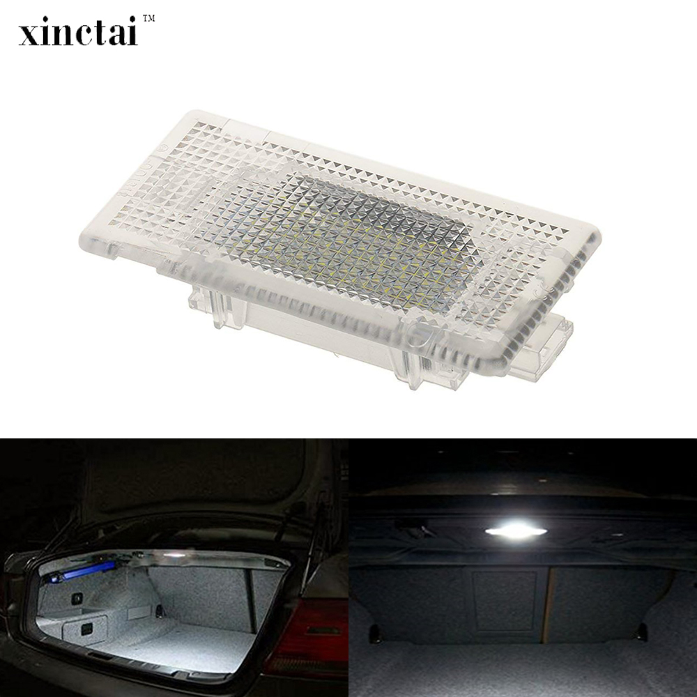 1PC LED Trunk Lamp Luggage Compartment Light for BMW 1/3/5/6/7 E82 E87 E88 E46 E90 E91 E92 E93 E39 E60 E61 F10 E63 E64 E38 E65 image
