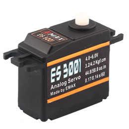 Фото 1 шт. EMAX ES3001 Servo 43g 4 8 6 0 в аналоговый пластиковый зуб рулевой механизм для RC