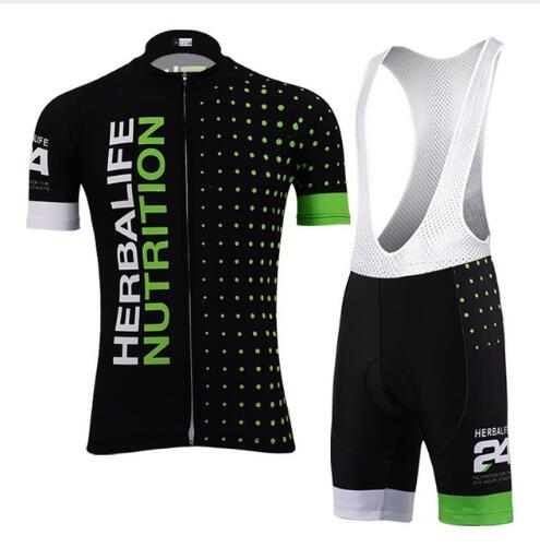 Jersey Bike-Wear Short-Sleeve Cycling-Clothing Top-Herbalife NEW Pro Men Gel-Pad Breathable