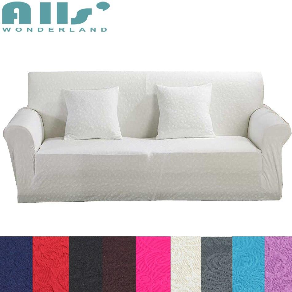 Jacquard 1pc Sofa Slipcover Living Room Seat Covers