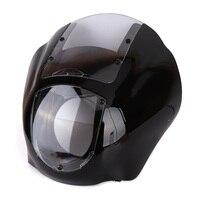 Detachable Quarter Headlight Fairing Kit For Harley Sportster FXR 1986 1994 Dyna 1995 2005 For Harley