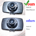 "Dash Cam Full HD 1080P 2.7"" Car Dvrs G30 Novatek  Car Camera Recorder With Motion Detection Night Vision Vehicle Camera"