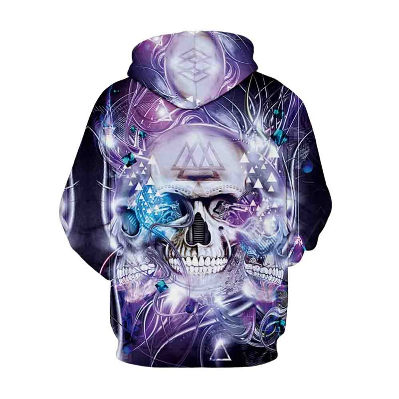 f511fe40d422 Raisevern Colorful Owl 3D Hoodies Skull Print Tracksuits Men Women  Streetwear Pullovers Tops Casual Hoody Sweatshirts Dropship-in Hoodies    Sweatshirts from ...