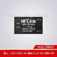 10PCS~20PCS/LOT HLK 5M03 DIP AC DC low ripple power supply module 220V to 3.3V5W