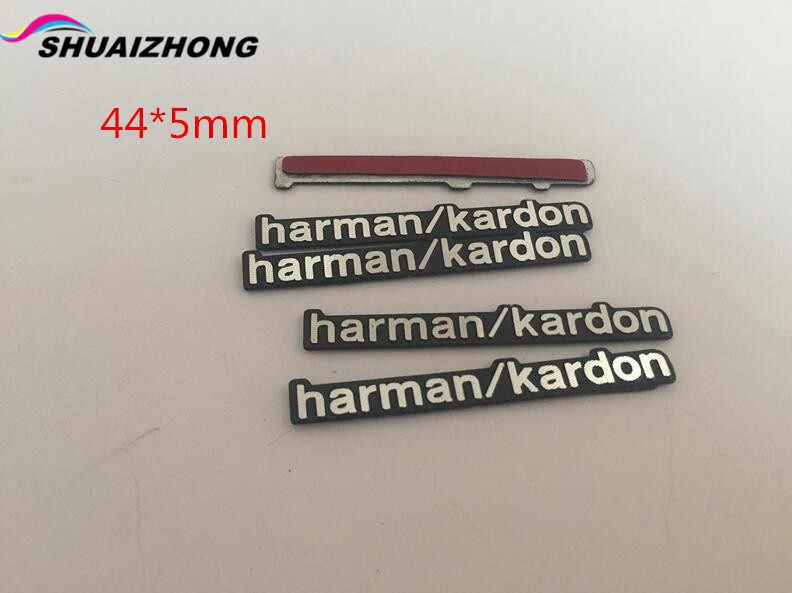 Harman/kardon Meridianos, Dynaudio, Burmester, Fender Focal pioneer, insignia de altavoz de audio Hi-Fi, pegatina con emblema estéreo, 5 uds.