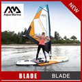 330*80*15CM AQUA MARINA BLADE inflatable sup board with sail sailboard stand up paddle board surf board surfboard kayak A02003