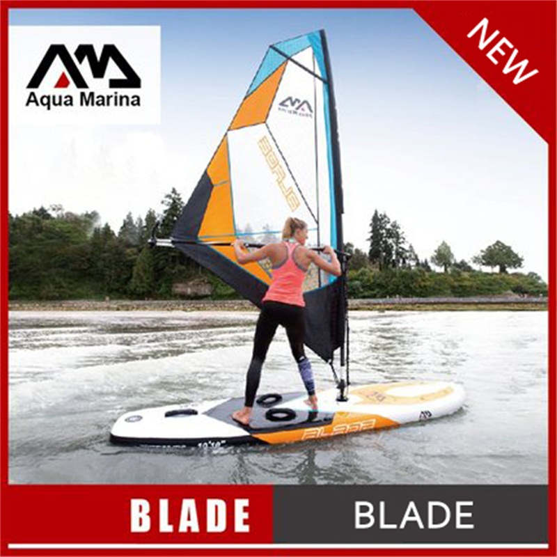 330*80*15CM AQUA MARINA BLADE inflatable sup board with sail sailboard stand up paddle board surf board surfboard kayak A02003 foxer brand women s leather handbag fashion female totes shoulder bag high quality handbags