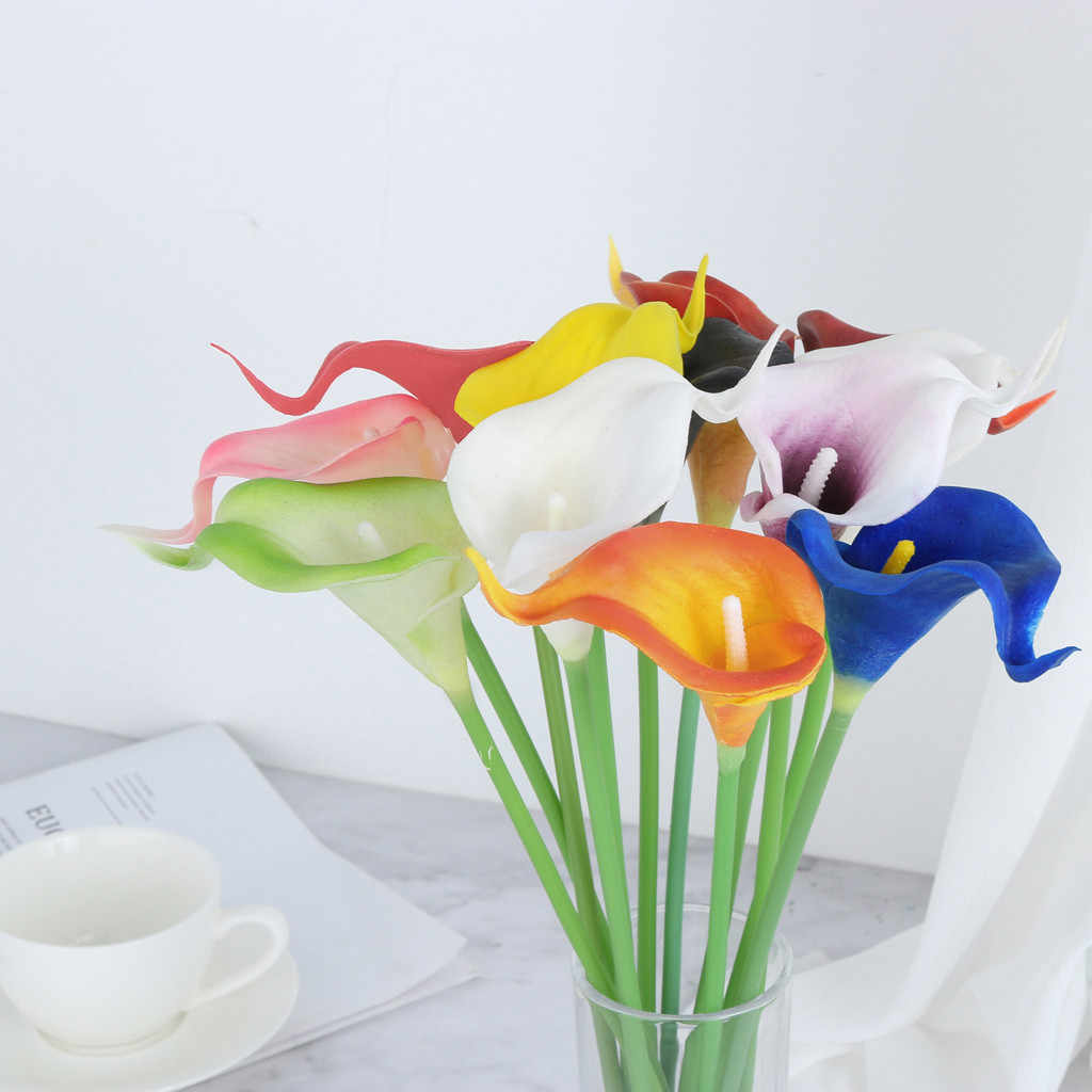2019 Yeni Stil Mini Yapay gelinçiceği Sahte Çiçek Düğün Ev Dekor Buket Yatak Odası oturma odası aksesuarları