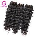 Piña Curly Hair Extension Burmese VIrgin Hair 3 Unids Birmano Birmano Remy rizada Profunda Virginal Rizado armadura del pelo humano bundles