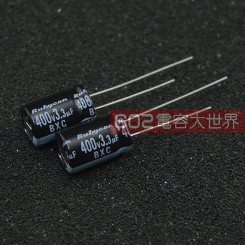 50PCS/20pcs Rubycon electrolytic capacitor 400v3.3uf 400v BXC 8*11.5 high frequency low resistance FREE SHIPPING цена 2017