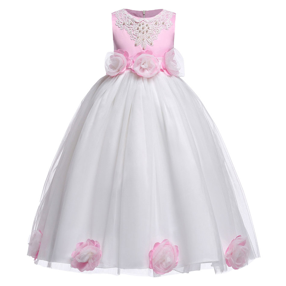 Girls clothing embroidered princess childrens clothing, princess kevlar childrens clothing, bridesmaids clothing, wedding clGirls clothing embroidered princess childrens clothing, princess kevlar childrens clothing, bridesmaids clothing, wedding cl