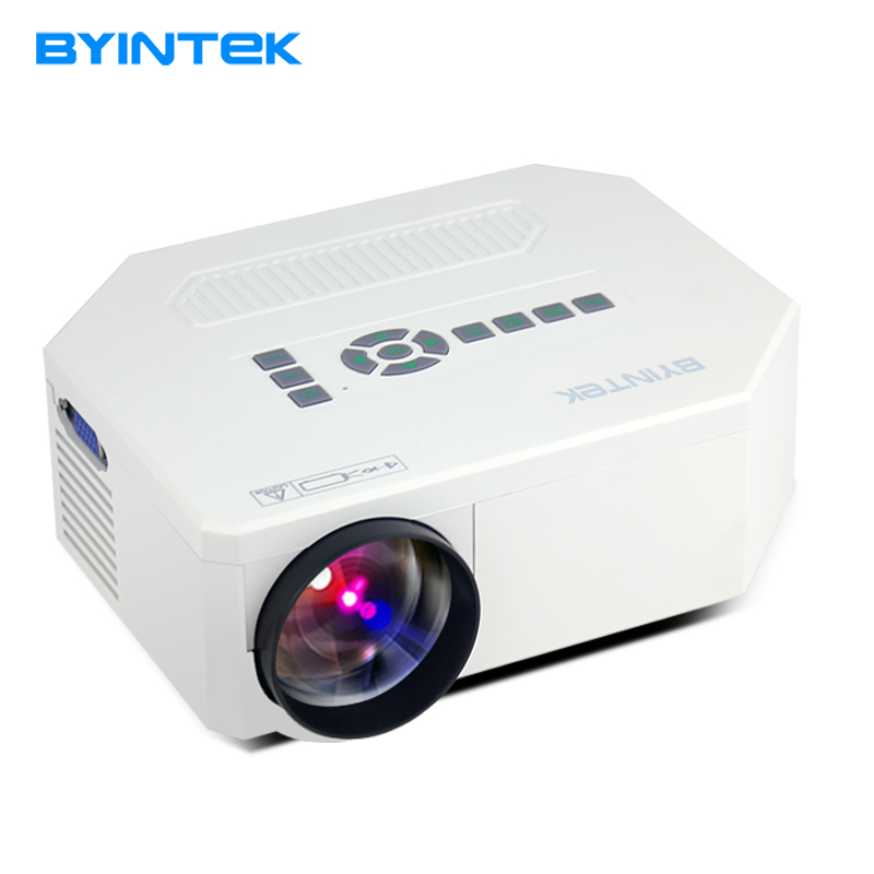 Byintek bt300 cinema hdmi lcd led game laptop pc digital for Small projector for laptop