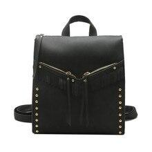 Бренд 2017 ткань кисточкой SAC основной Студентка сумка рюкзак путешествия Роскошные Рюкзаки Для женщин Сумки дизайнер Для женщин сумка A8