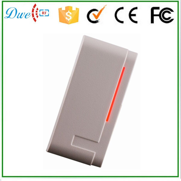 DWE CC RF wiegand 26 output 13.56Mhz ISO14443A proximity rfid card reader with  waterproof ip65 wiegand 26 input