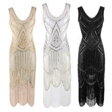 Vestido lantejoulas vintage para mulheres, vestido inspirado em lantejoulas, 20s, ótimo vestido gatsby, 2020 vestidos