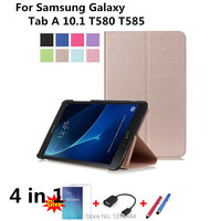 Official Original 1 1 Case For Samsung Galaxy Tab A 10 1 T580 T585 Cases Leather