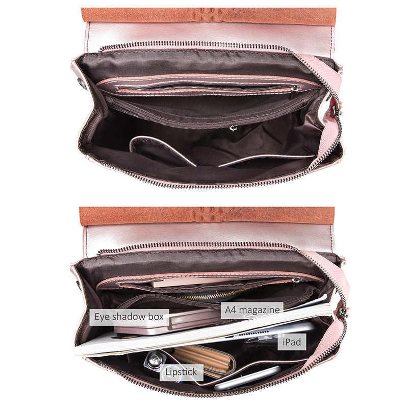 REALER рюкзак женский кожаный сплит-кожи, рюкзак школьный для девочек подростков, вместительная женская сумка на плечо