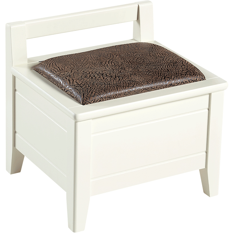 Solid Wood Bench Sofa Couch Storage Chest Furniture: Household Solid Wood Stool Wooden Stool Storage Storage