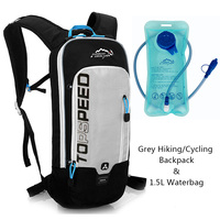 Outdoor Running Cycling Backpack 1.5L Bladder Water Bag Sports Camping Hiking Hydration Backpack Riding Camelback Bag