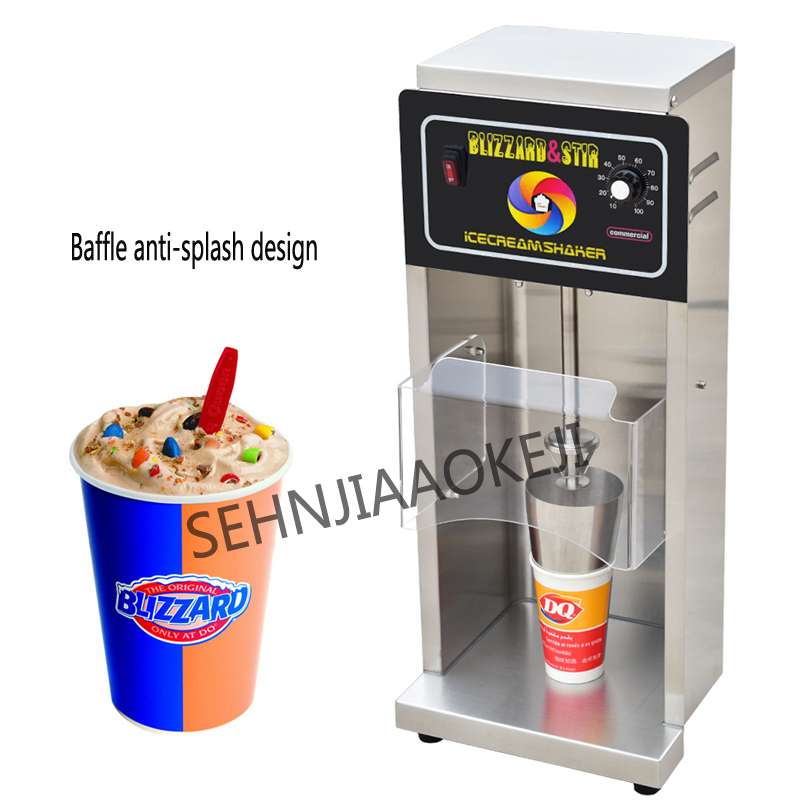 Blizzard machine ice cream machine DQ-998 Snowstorm machine Stainless steel ice cream mixer Commercial stirrer 220V 650W 1pcBlizzard machine ice cream machine DQ-998 Snowstorm machine Stainless steel ice cream mixer Commercial stirrer 220V 650W 1pc