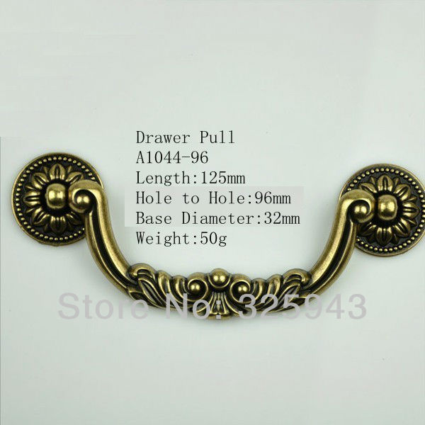 4 5 ... - 128mm Classic Antique Furniture Hardware Kitchen Cabinet Knobs And