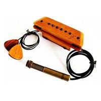 Eaglevox High End Log Acoustic Guitar Pickup Cherry Red