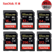 SanDisk 95MBS SD Card for Camera 8