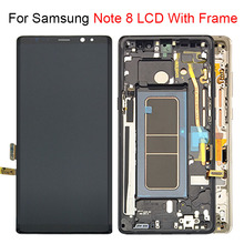 6.3 LCD Display with Frame For Samsung Note 8 Touch Screen Digitizer Assembly For Samsung Galaxy N9500 N950F N900D N900DS LCD srjtek 8 inch for samsung galaxy note 8 0 n5110 lcd display screen touch digitizer sensor tablet pc assembly replacement parts