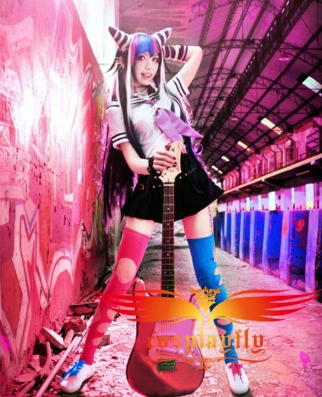 Anime Danganronpa Dangan-Ronpa Ibuki Mioda Dress Cosplay:B