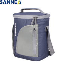 SANNE 9L Portable Insulated Thermal Lunch Bag Storage Container Bags for Unisex Multifunction Picnic bag