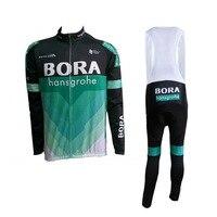 Winter Thermal Fleece 2018 Pro Tour Team Cycling Jerseys Long Sleeve Warmer Bike Clothing MTB Ropa