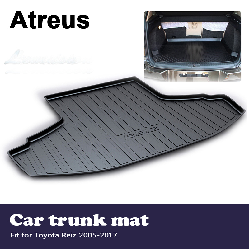 Atreus Car Trunk Mat Tray Floor Carpet Pad For Toyota Reiz 2005 2006 2008 2009 2010 2011 2012 2013 2014 2015 2016 2017Atreus Car Trunk Mat Tray Floor Carpet Pad For Toyota Reiz 2005 2006 2008 2009 2010 2011 2012 2013 2014 2015 2016 2017