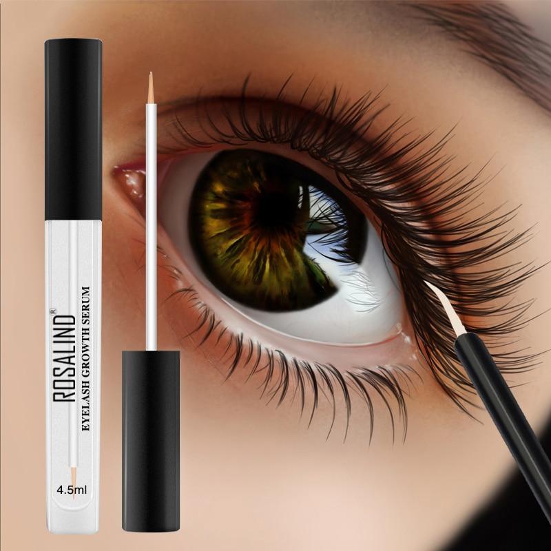 ROSALIND Eyelash Growth Serum Lash Treatment Makeup Eyelash Longer Fuller Thicker Eye Care Eyelash Enhancer Essence