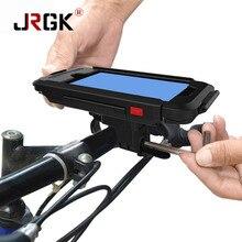 JRGK Спорт Водонепроницаемый Телефон Случаях Puch Сумка Для iPhone 5 iPhone6/6 s Горный Велосипед Мотоциклов Ручка Бар Держатель