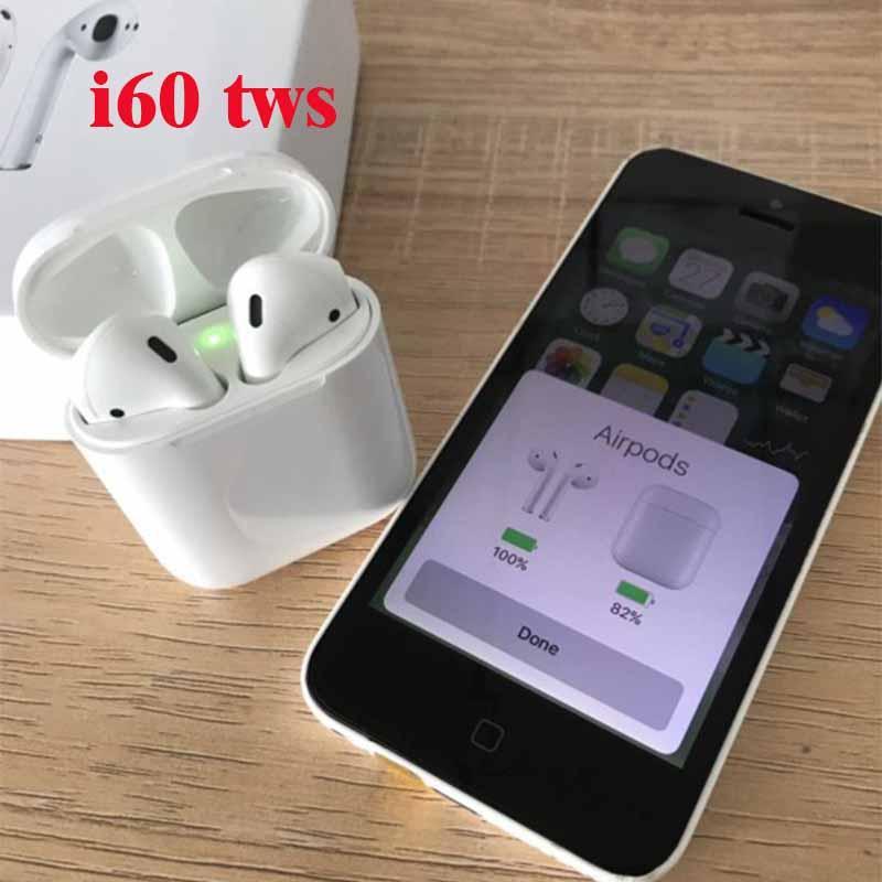 Original i60 TWS pop up 1:1 mini écouteur sans fil Bluetooth 5.0 pour ap