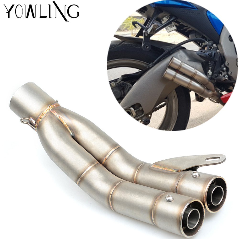 Motorcycle Scooter Exhaust Pipe Muffler for Honda CB400 CB250 CB600 CBR900 CBR400RR NC23 CBR900RR CBR600 f2 f3 Hornet RVF400 universal 51mm motorcycle muffler carbon fibre moto exhaust pipe for honda vfr800 cbr250rr cbr600rr cb250 cb400 cb600 cb1300