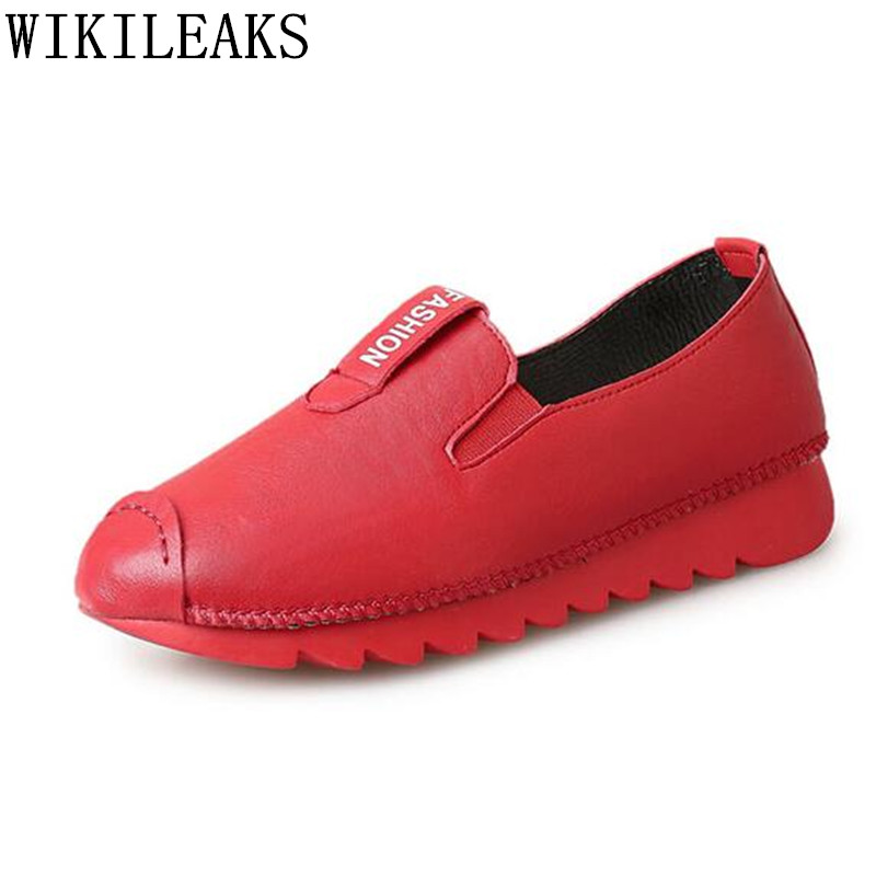 designer oxford shoes for women leather casuas shoes ladies flat shoes luxury brand slip on loafers zapatillas mujer black red top quality women flats genuine leather slip on women pointed toe loafers brand oxford shoes for women flat shoes ladies shoes