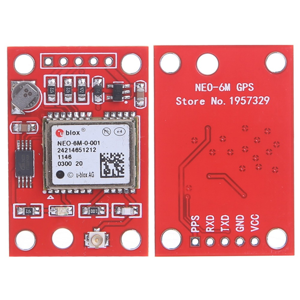 GYNEO6MV2 GPS Module NEO-6M GY-NEO6MV2 Board with Antenna for Arduino New gy neo6mv2 neo 6m gps module neo6mv2 with flight control eeprom mwc apm2 5 large antenna for arduino