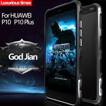 Алюминий Металл Броня Huawei P10 Чехол Бампер Противоударный Роскошные Алюминия Марки Корпуса Телефона Чехол Для Ascend Huawei P10 Бампер