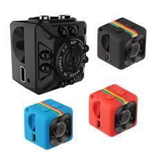 SQ11 HD Mini Camera Small Camera 720P 1080P Night Vision Sensor Camcorder Micro Camcorder Sports Camera DV Video  Small Camera цены