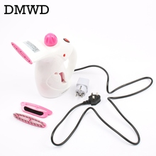 DMWD Hand held household hanging ironing machine mini clothes steam electric iron Steam the face humidification Disinfection