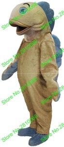 Syflyno Can be washed with water EVA Material Helmet Blue Fin fish Mascot Costumes cartoon Apparel Cosplay MaKe 367
