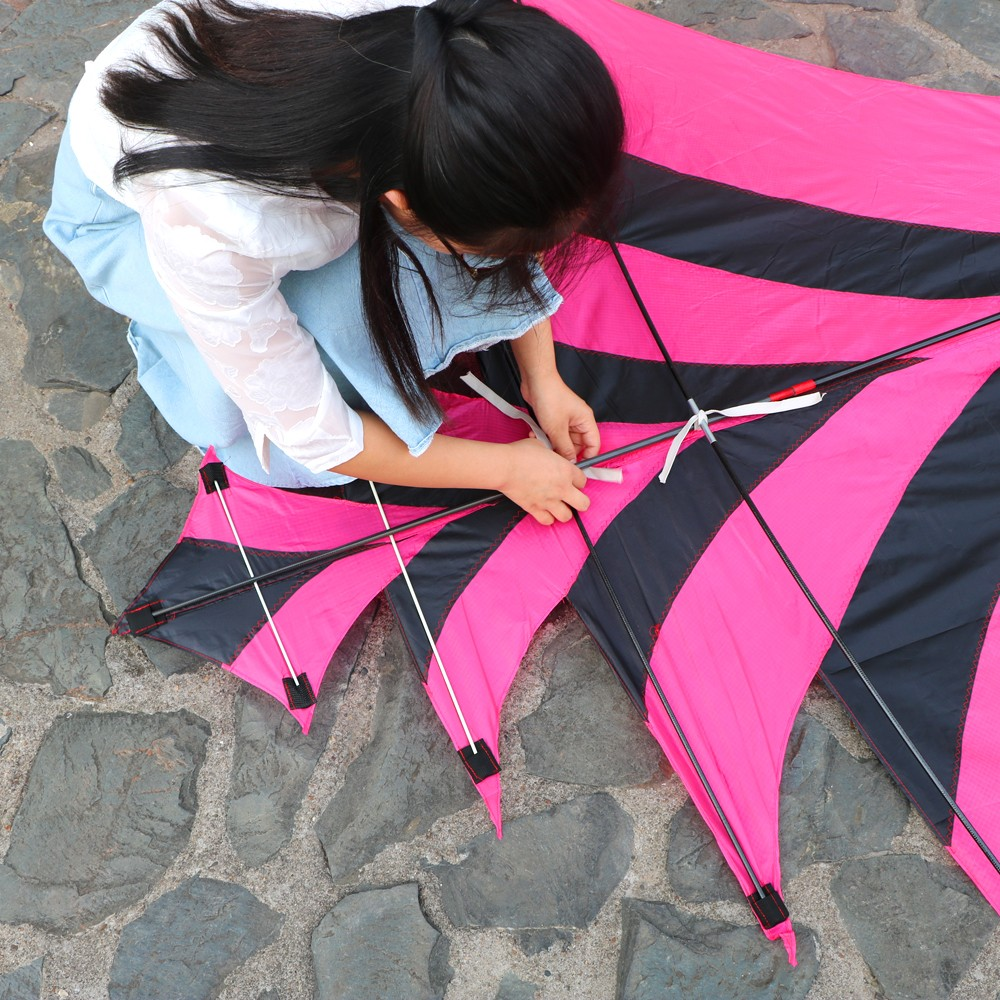 New Style Kite Flying Outdoor Sports with Kite Accessories Sturdy Pure Hand-Made Carbon Kites 3 Meters Long with kite handle2