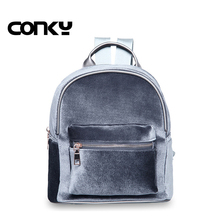Новинка 2016 года женщин маленький рюкзак стильный замшевый Рюкзак Повседневная дорожная сумка студенты сумка школьные сумки для девочек-подростков